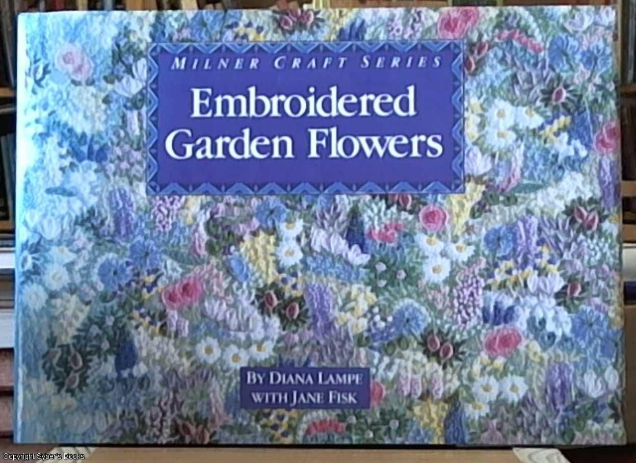 Embroidered garden flowers milner craft series by jane