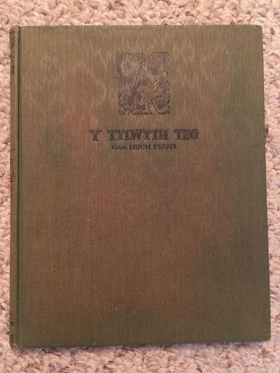 Y Tylwyth Teg Gan Hugh Evans Original 1935 Hardcover, Hugh Evans