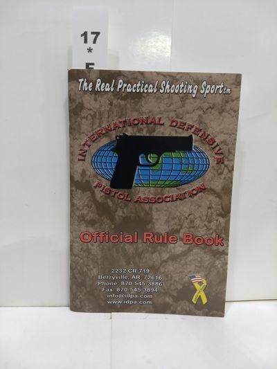 Image for International Defensive Pistol Association Official Rule Book 2005