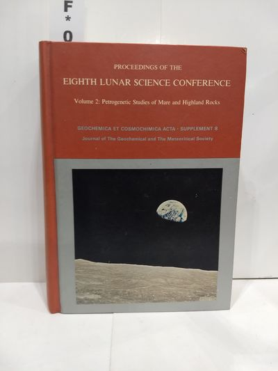 Image for Proceedings of the Eighth Lunar Science Conference--volume 2: Petrogenetic Studies of Mare and Higs