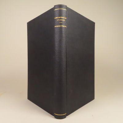 Image for Zoroastrische Studien. Abhandlungen Zur Mythologie und Sagengeschichte des  Alten Iran