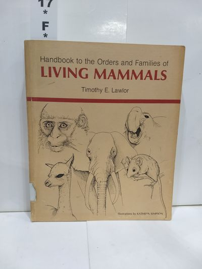 Image for Handbook to the Orders and Families of Living Mammals