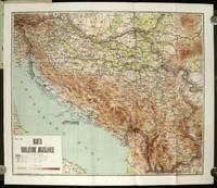 Mapa srbije - Auto karta Srbije - Geografska karta sa