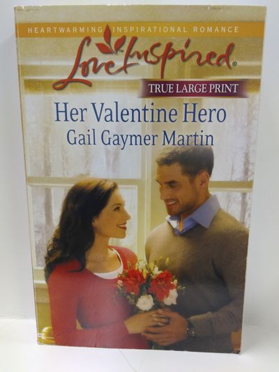 Image for Her Valentine Hero (LARGE PRINT)