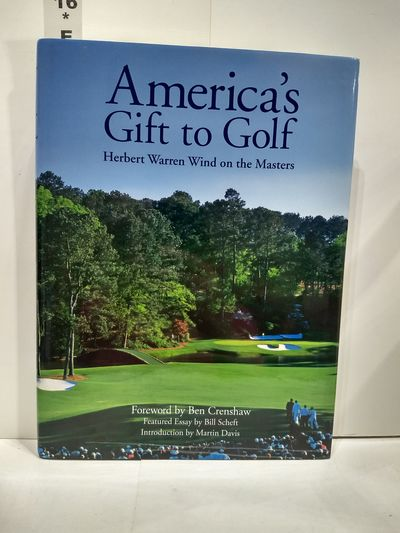 Image for America's Gift To Golf: Herbert Warren Wind On The Masters (SIGNED)
