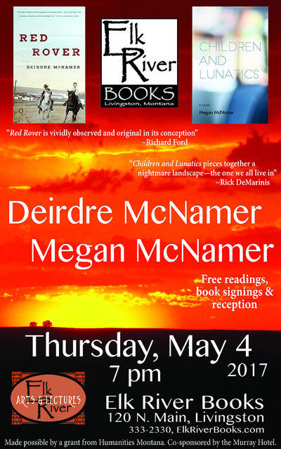 Deirdre and Megan McNamer Poster, 20 April 2017, McNamer, Deirdre and Megan
