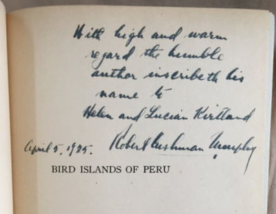 Bird Islands of Peru: The Record of a Sojourn on the West Coast, Murphy, Robert Cushman
