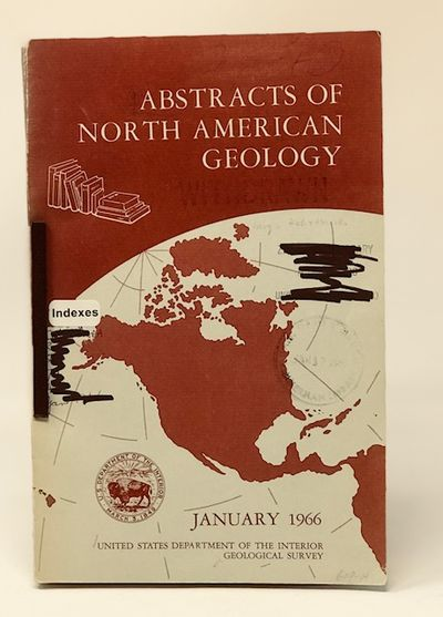 Abstracts of North American Geology  January 1966 - May 1966 - June 1966  (bound together)