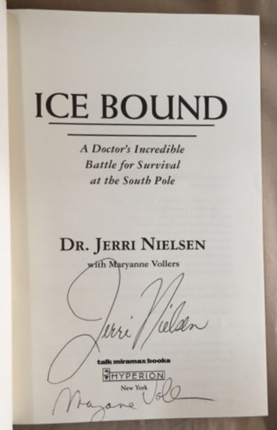 Ice Bound, Nielsen, Jerri, with Maryanne Vollers
