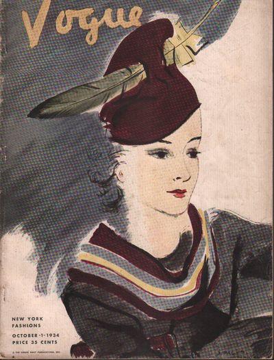 Image for Vogue Magazine. New York Fashions. October 1, 1934.