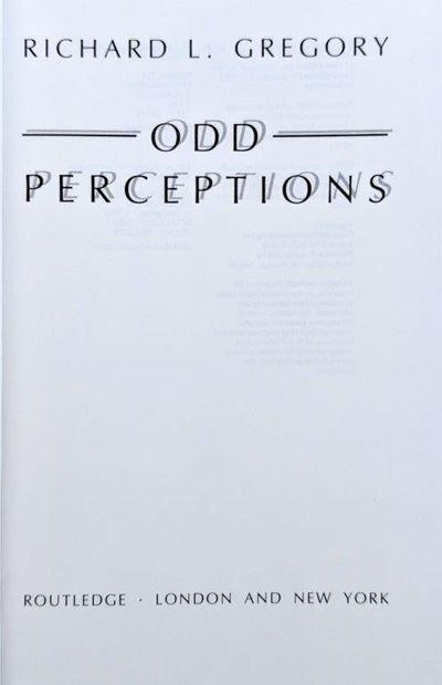 Image for Odd Perceptions.
