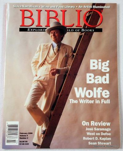 Biblio Magazine - February 1999.  Volume 4, Number 2, Biblio Magazine