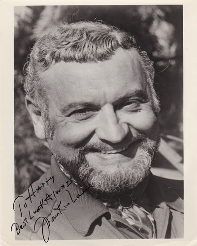 LAINE, FRANKIE. (1913-2007). AMERICAN SINGER/SONGWRITER AND CIVIL RIGHTS ADVOCATE. - Publicity Photo Inscribed and Signed by American Singer/Songwriter and CIVIL Rights Advocate Frankie Laine.