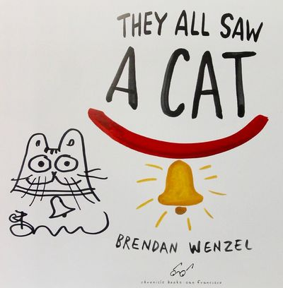 They All Saw a Cat (Signed), Wenzel, Brandon