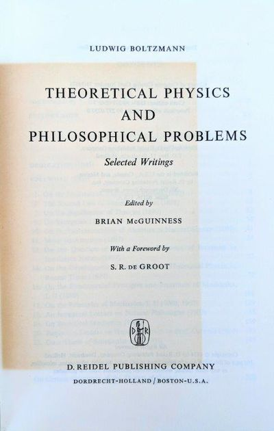 Image for Theoretical Physics and Philosophical Problems, Selected Writings; Edited by Brian McGuinness, with a foreword by S. R. De Groot.