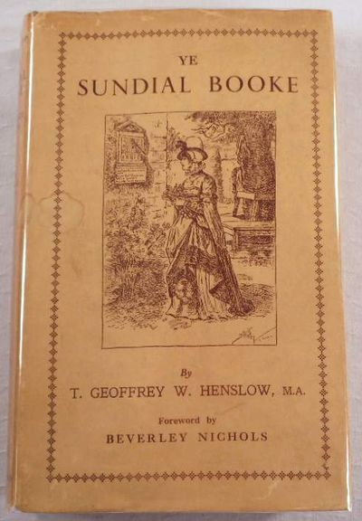 Ye Sundial Booke, Henslow, T. Geofrrey W.