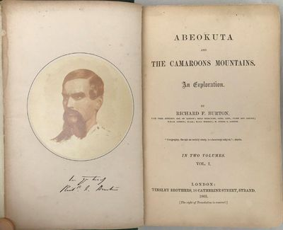 Abeokuta and the Camaroons Mountains. An Exploration., BURTON, Sir Richard F.