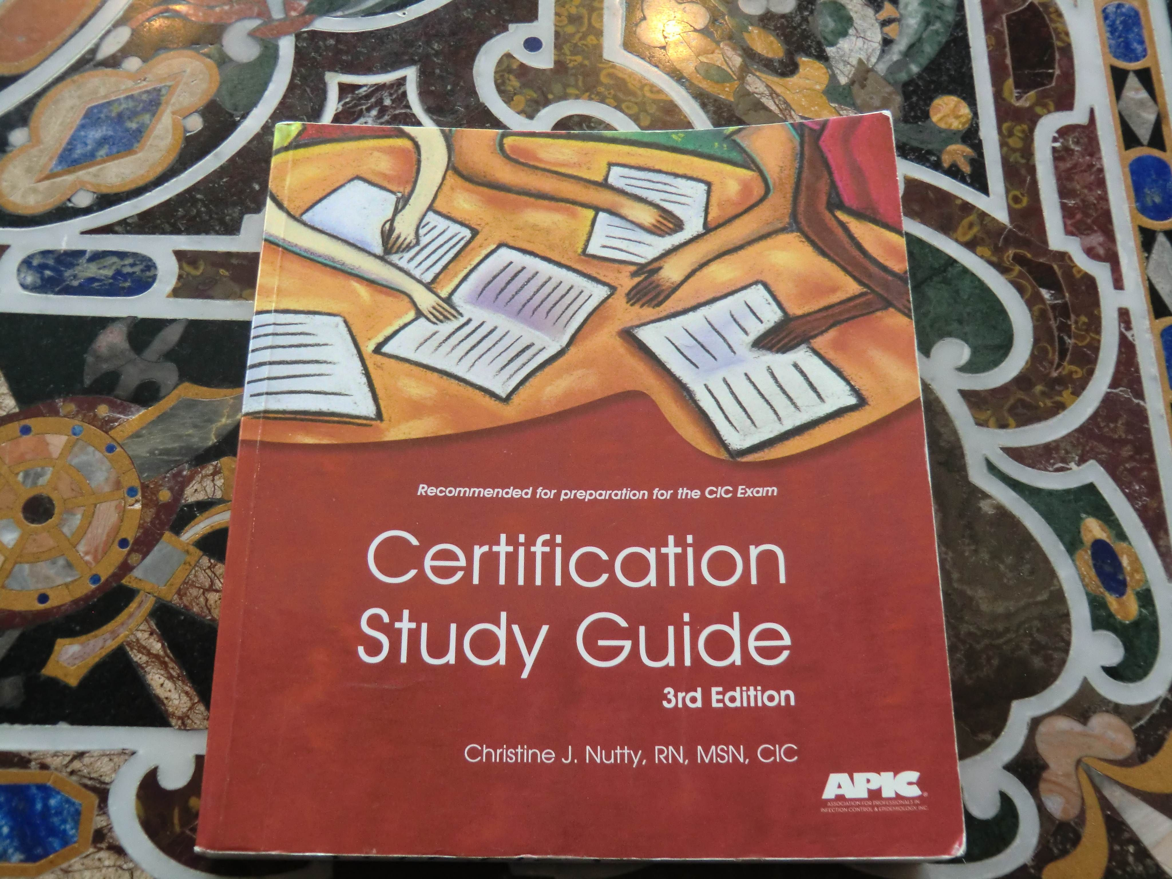 cic certification study guide pdf