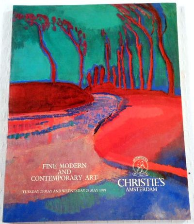 Christie's Amsterdam: Fine Modern and Contemporary Art. May 23 and 24, 1989, Christie's  [Auction Catalogue]