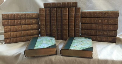 Thackeray's Works (Complete 20 volume set), Thackeray, William