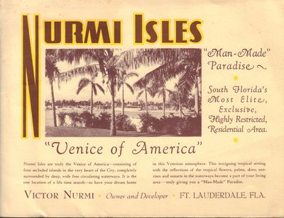 Image for Nurmi Isles sales catalog