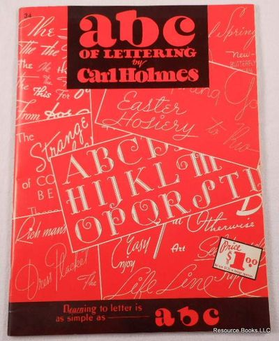 ABC of Lettering, Holmes, Carl