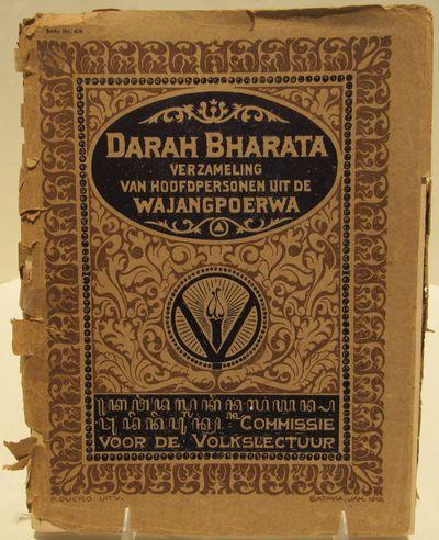 Image for Darah Bharata. Verzameling van hoofdpersonen uit de Wajang [Wayang] Poerwa.
