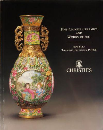 Image for Fine Chinese Ceramics And Works Of Art. Auction 8470. New York, Thursday, September 19, 1996