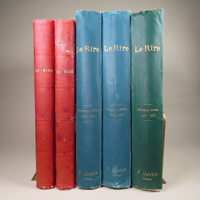 Image for Le Rire. (5 Volumes) Nos. 1-100; Nos. 209-364