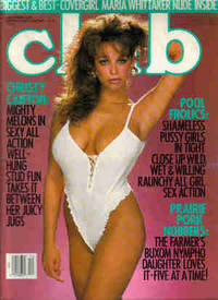 Club Magazine December, 1989, Vol. 15, No. 11 by Club Magazine : Maria Whittaker, Christy Canyon, Belle, Marilyn Chambers, Charli, Samantha, Jess, Jodie - 1989 - from Terry Nudds and Biblio.com
