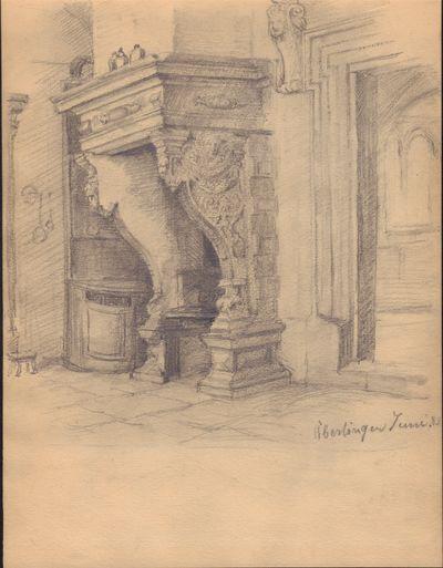 Image for Set of 3 Original Pencil Drawings of Uberlingen, Germany