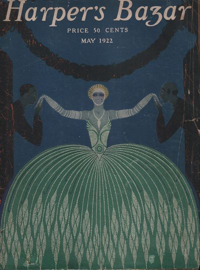Image for Harper's Bazar (Harper's Bazaar) May, 1922 - Cover Only