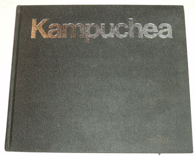 THE NEW FACE OF KAMPUCHEA: A photo-record of the first American visit to Cambodia since the end of the war., (Brown, Robert). Kline, David.