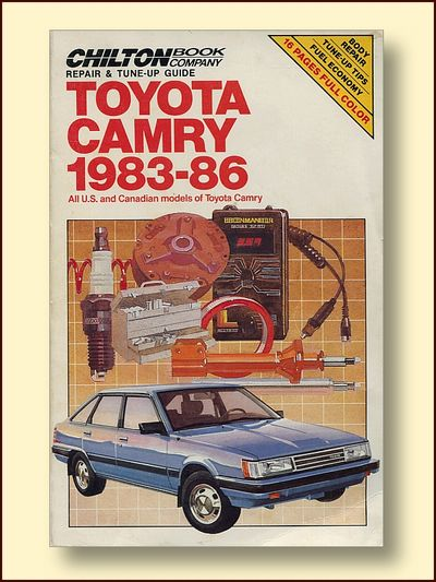 Toyota Camry 1983 - 86 Repair and Tune-up Guide