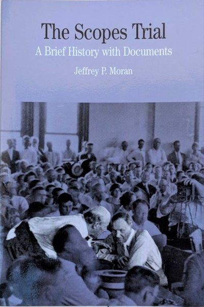 Image for The Scopes Trial, a brief history with documents.