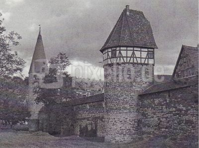 Image for Set of 4 Original Pencil Drawings of Weil der Stadt, Germany