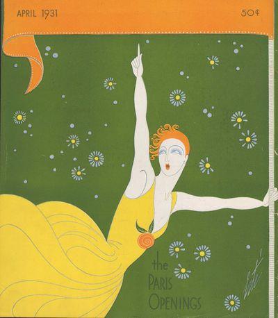 Image for Harper's Bazar (Harper's Bazaar) - April, 1931- Cover Only