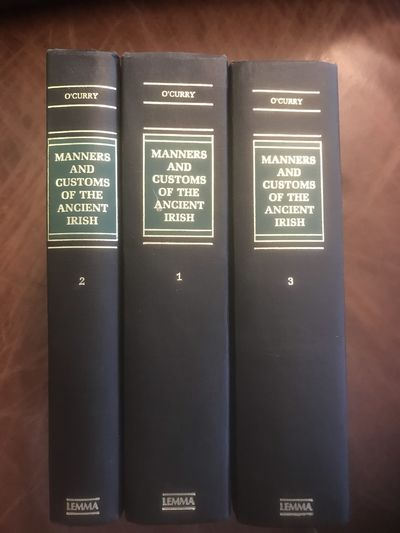 Image for On The Manners And Customs Of The Ancient Irish IN THREE VOLUMES