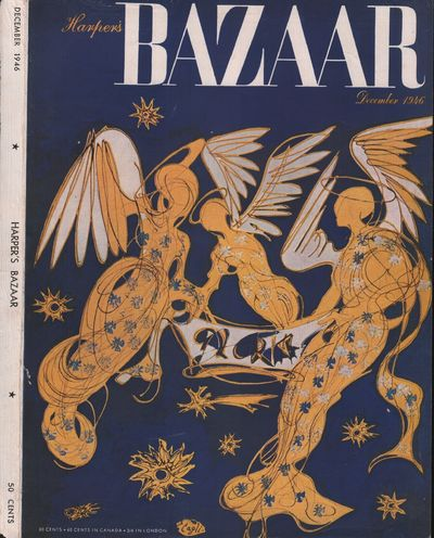 Image for Harper's Bazar (Harper's Bazaar) - December, 1946 - Cover Only