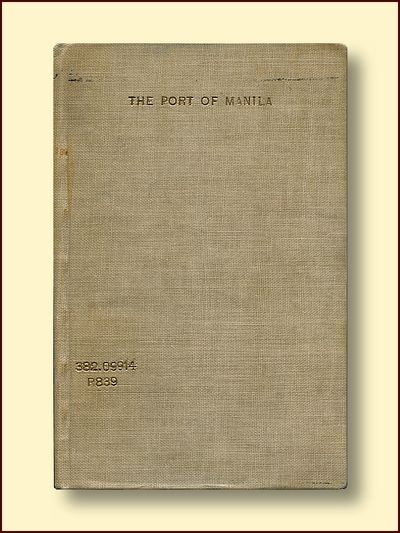 The Port of Manila Commenwealth of the Philippines 1940, Fabros, Melecio