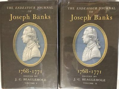 The Endeavour Journal of Joseph Banks 1768-1771. Edited by J. C. Beaglehole., BANKS, Joseph (1743-1820).