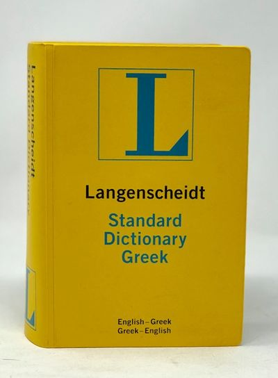 Langenscheidt's Standard Greek Dictionary Thumb Indexed (English and Greek Edition)