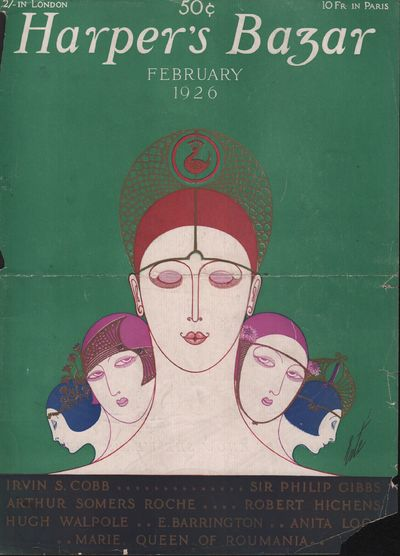 Image for Harper's Bazar (Harper's Bazaar) - February, 1926 - Cover Only