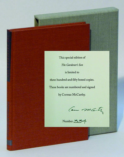 The Gardener's Son, McCarthy, Cormac