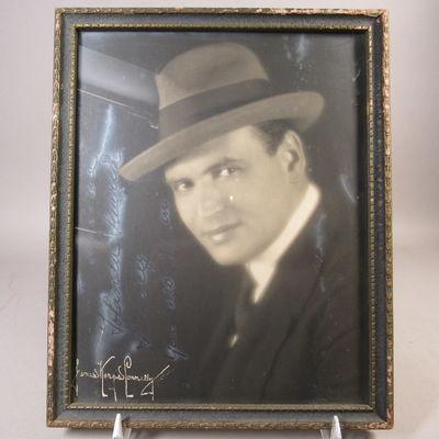 Image for Autographed photograph of Giacomo Rimini
