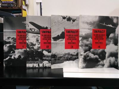 Image for Impact: The Army Air Forces' Confidential Picture History of World War II (Complete 8 Volume set)