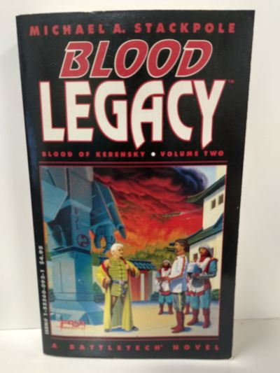 Image for Blood Legacy (Blood of Kerensky, Vol. II)