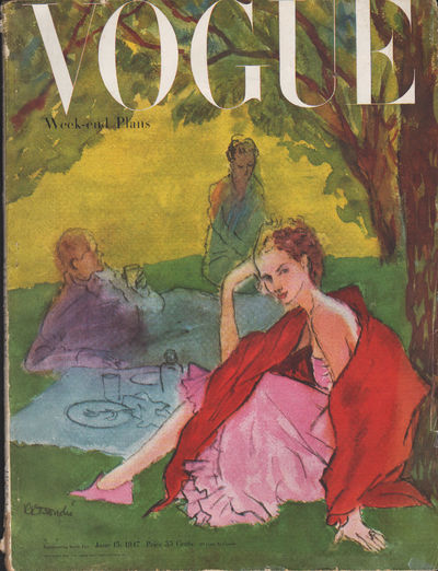 Image for Vogue Magazine, June 15, 1947