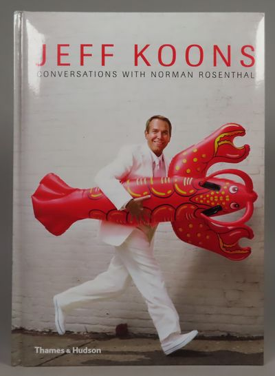 Image for Jeff Koons Conversations with Norman Rosenthal [SIGNED]