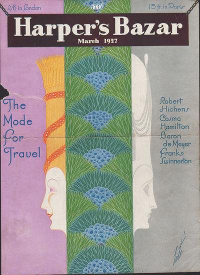 Image for Harper's Bazar (Harper's Bazaar) March, 1927 - Cover Only